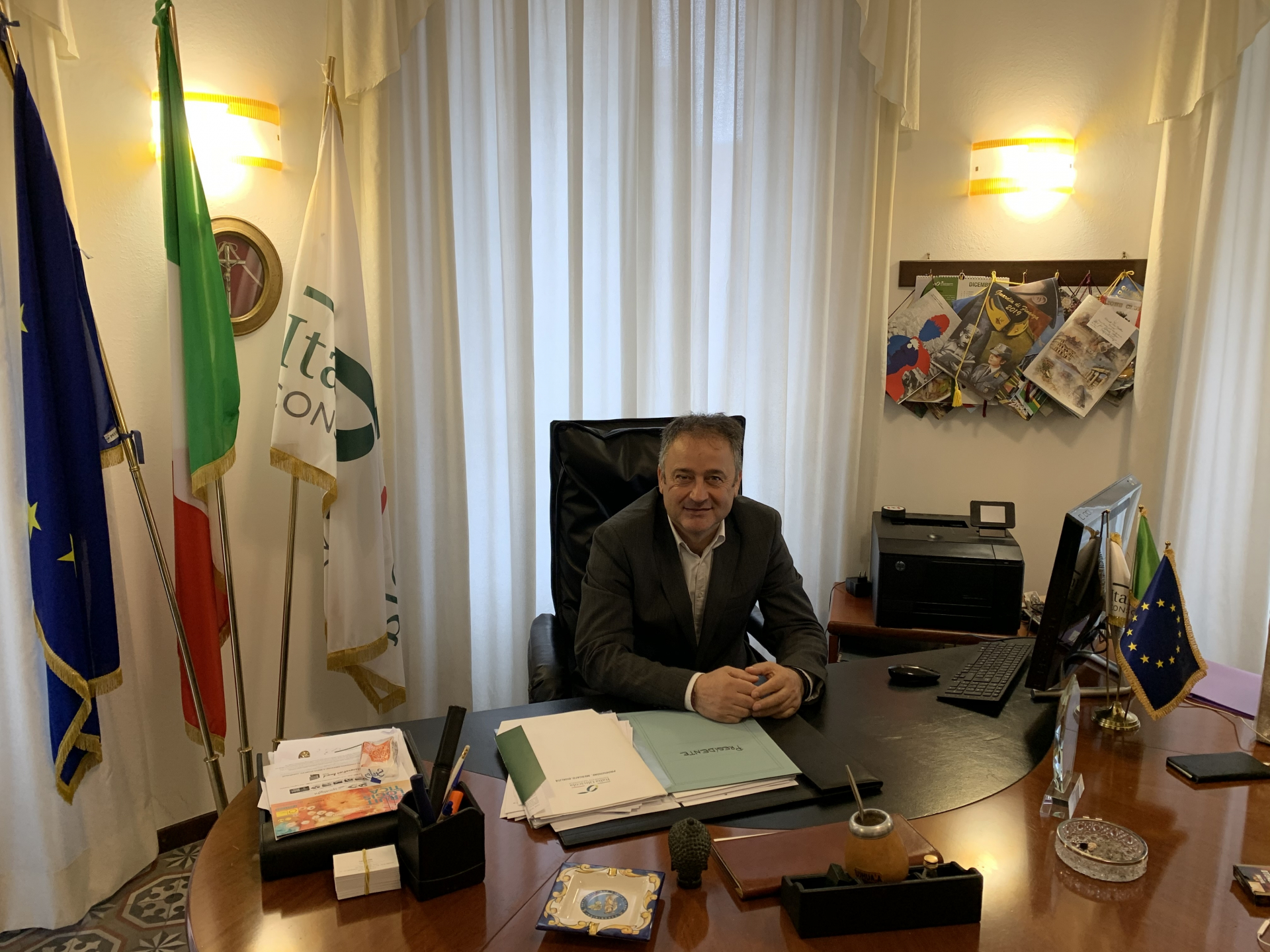 Nuovo Presidente per Italia Olivicola: Fabrizio Pini a capo della più importante organizzazione della produzione olivicola italiana