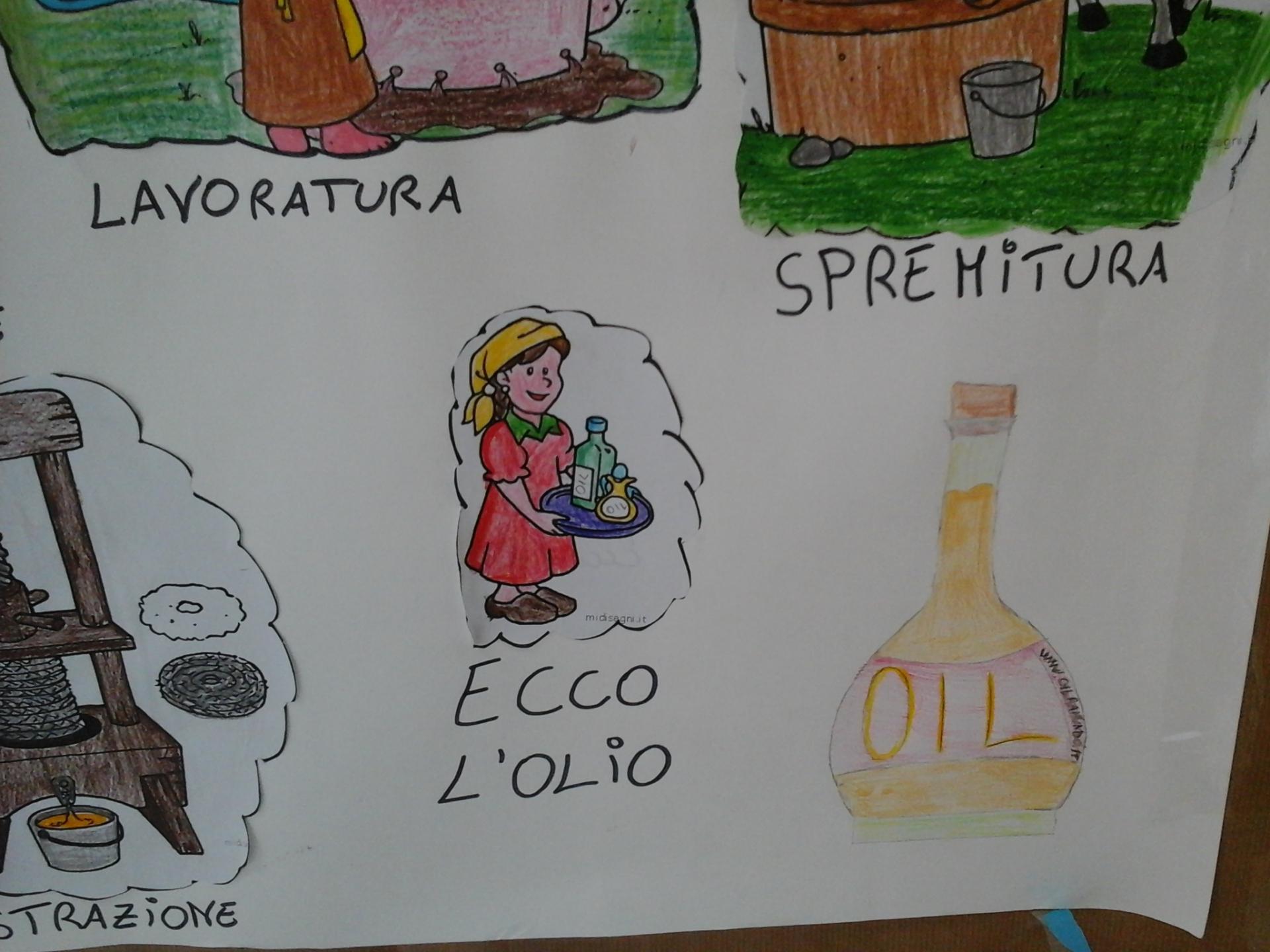 L'olivo visto dai bambini