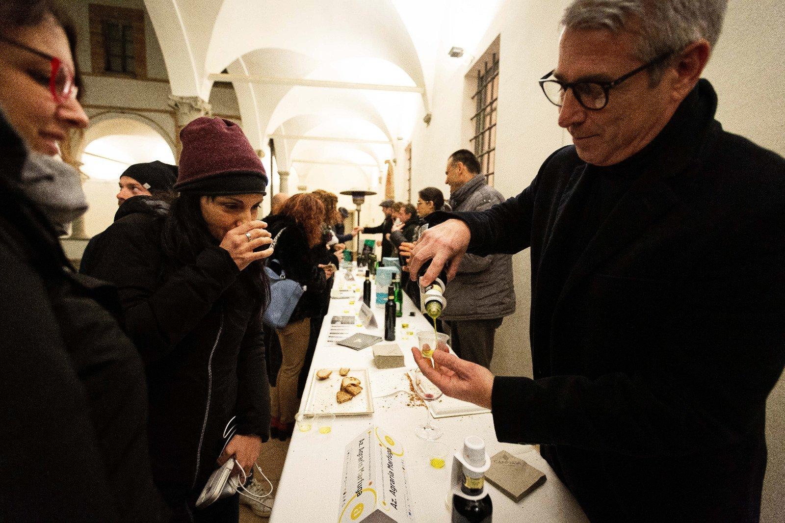 L'Anteprima dell'olio Dop Umbria