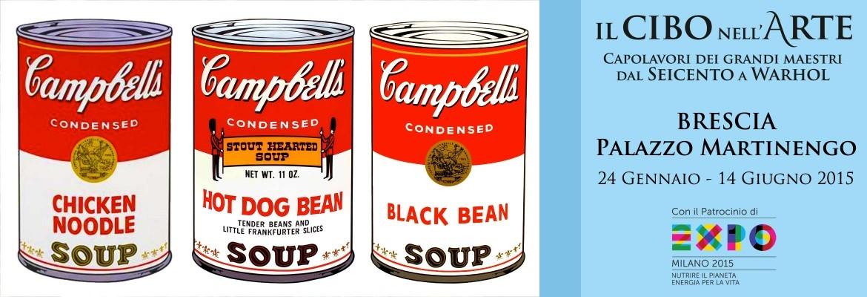 Il cibo nell'arte, dal '600 a Warhol