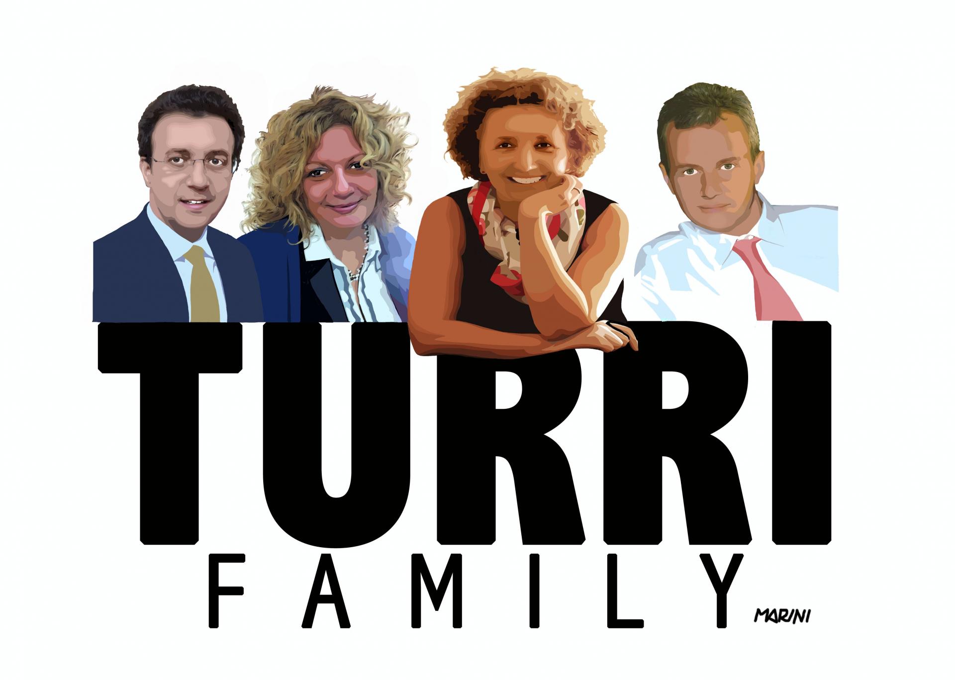 L'evoluzione del marchio Turri