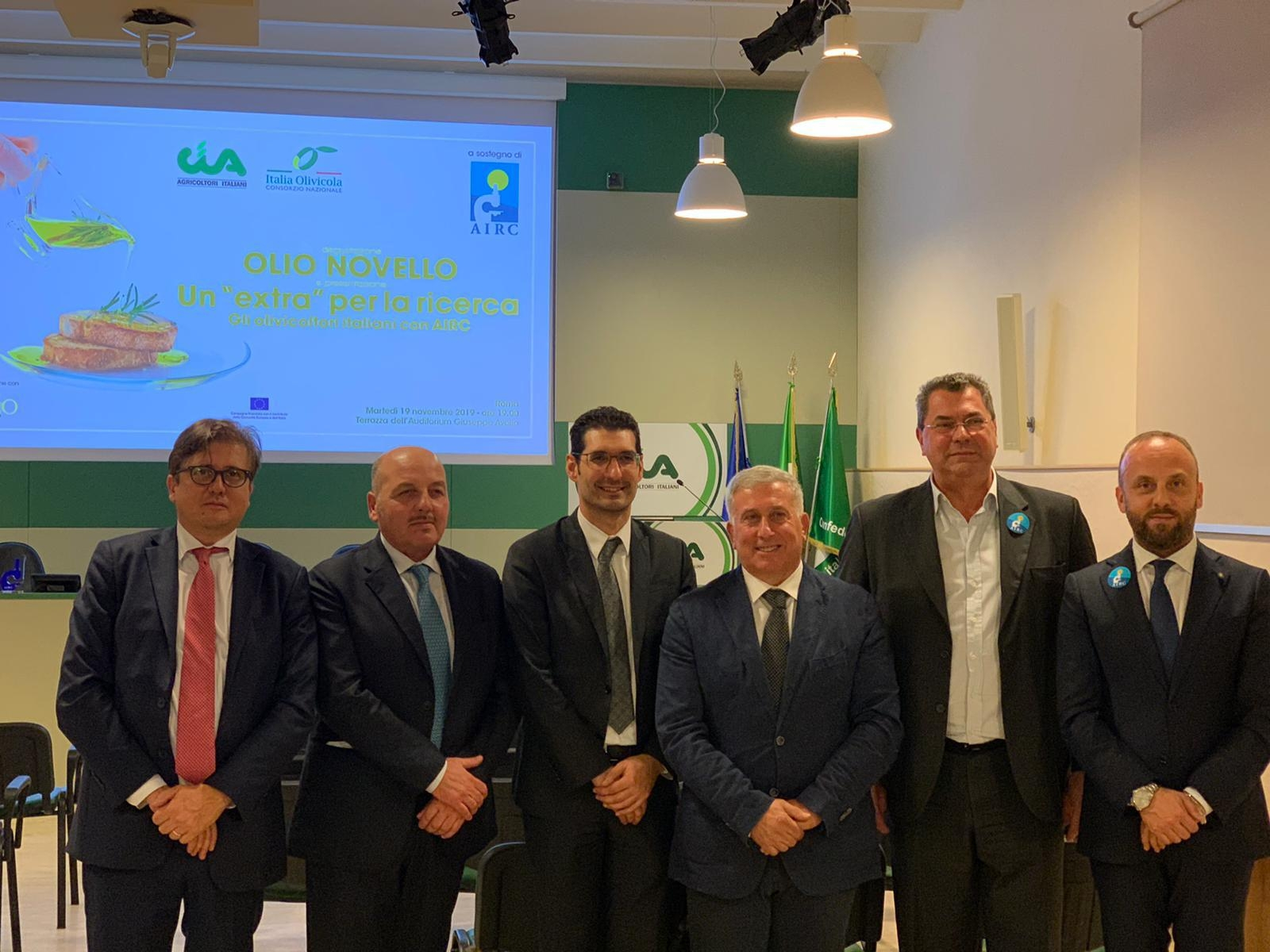 Un Extra per la ricerca, gli olivicoltori italiani al fianco della Fondazione Airc