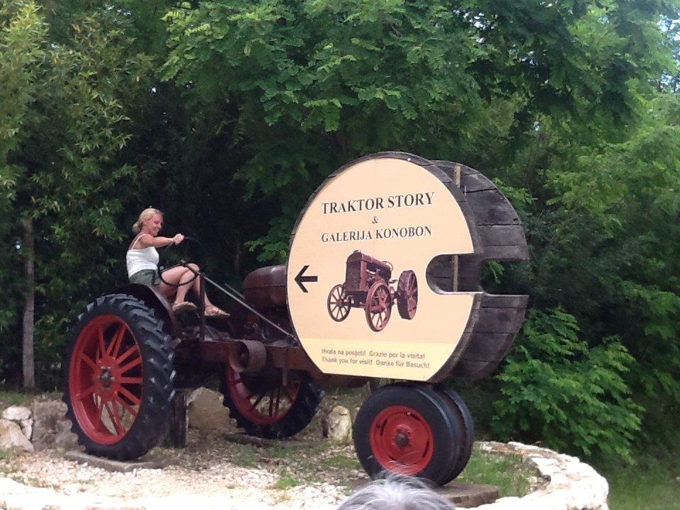 Il traktor story di Silvio Legovic