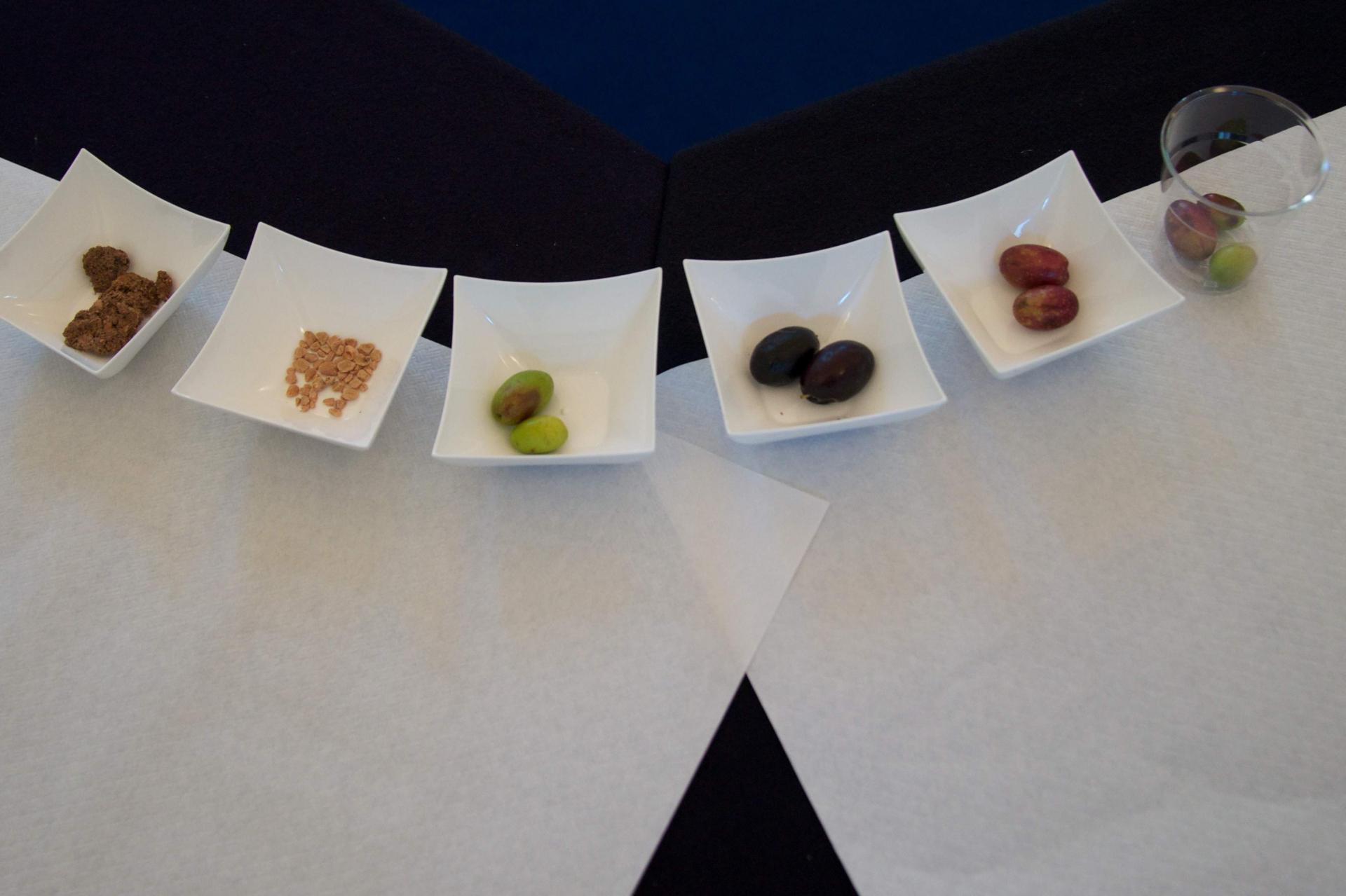 Assaggiatrice di olive