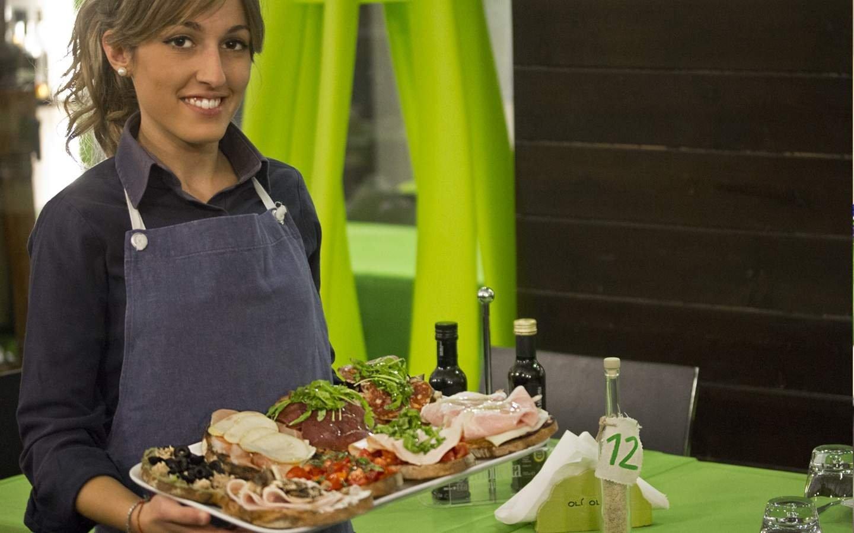 Un food and shop in frantoio