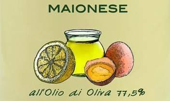 La maionese con l'olio d'oliva