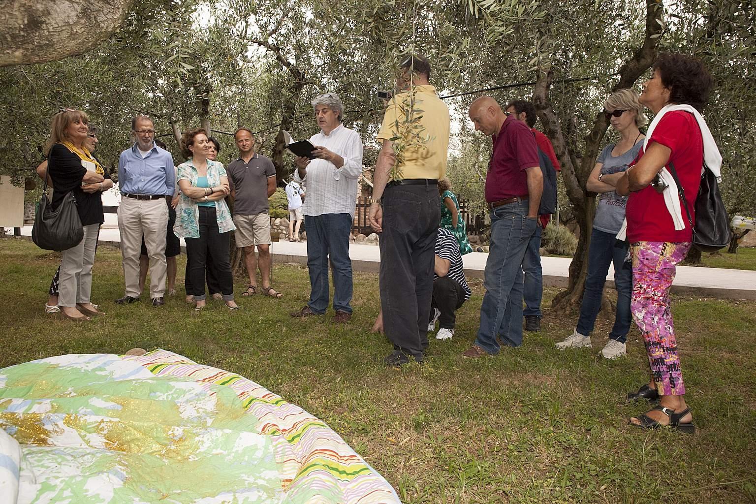 L'arte tra gli olivi a Cavaion
