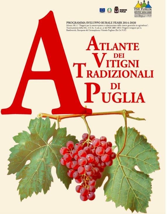 L'Atlante dei vitigni tradizionali di Puglia ha ricevuto il premio OIV 2019 nella sezione Ampelography
