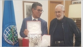 Madrid, il ministro degli Affari esteri libico fa visita al Coi