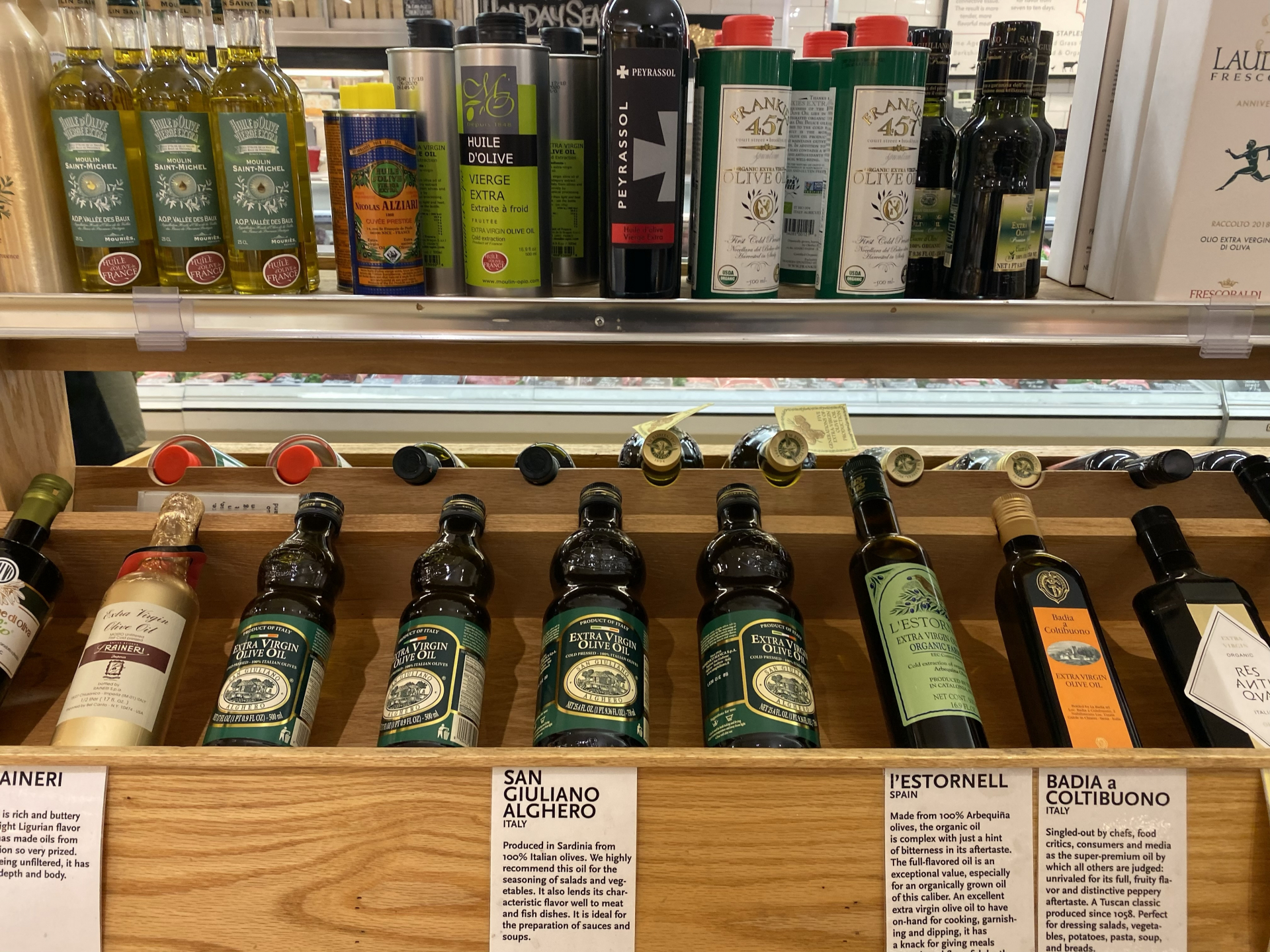 Olive Oil stocked in Italy. Update of 21 April 2020