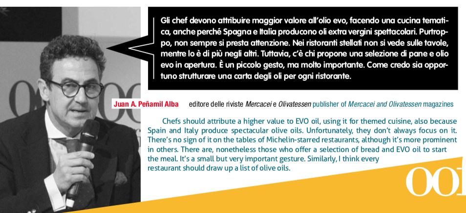 Olio e ristorazione in Spagna