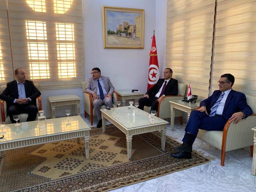 The International Olive Council delegation was received at the governorate headquarters by the Governor of Sfax