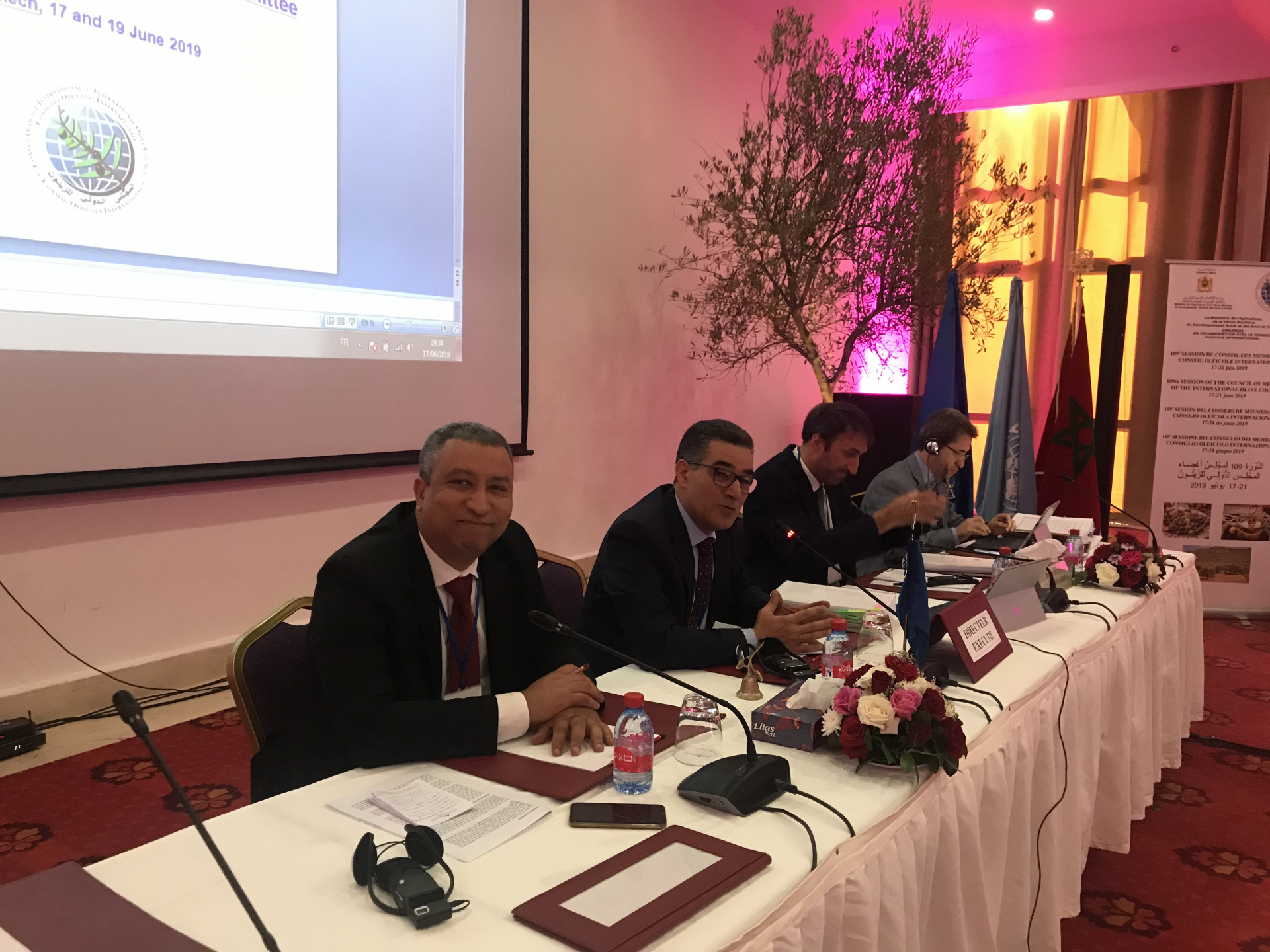 109th session of the Council of Members begins in Marrakech