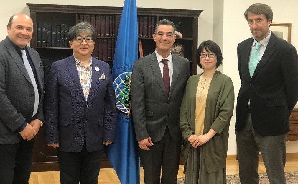 Réflexions sur une collaboration future entre l'Association japonaise des sommeliers de l'huile d'olive et le COI