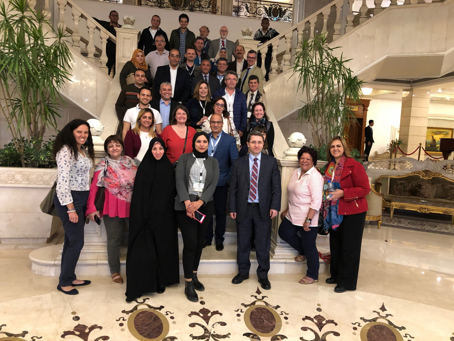 IOC's advanced course of table olives in Egypt