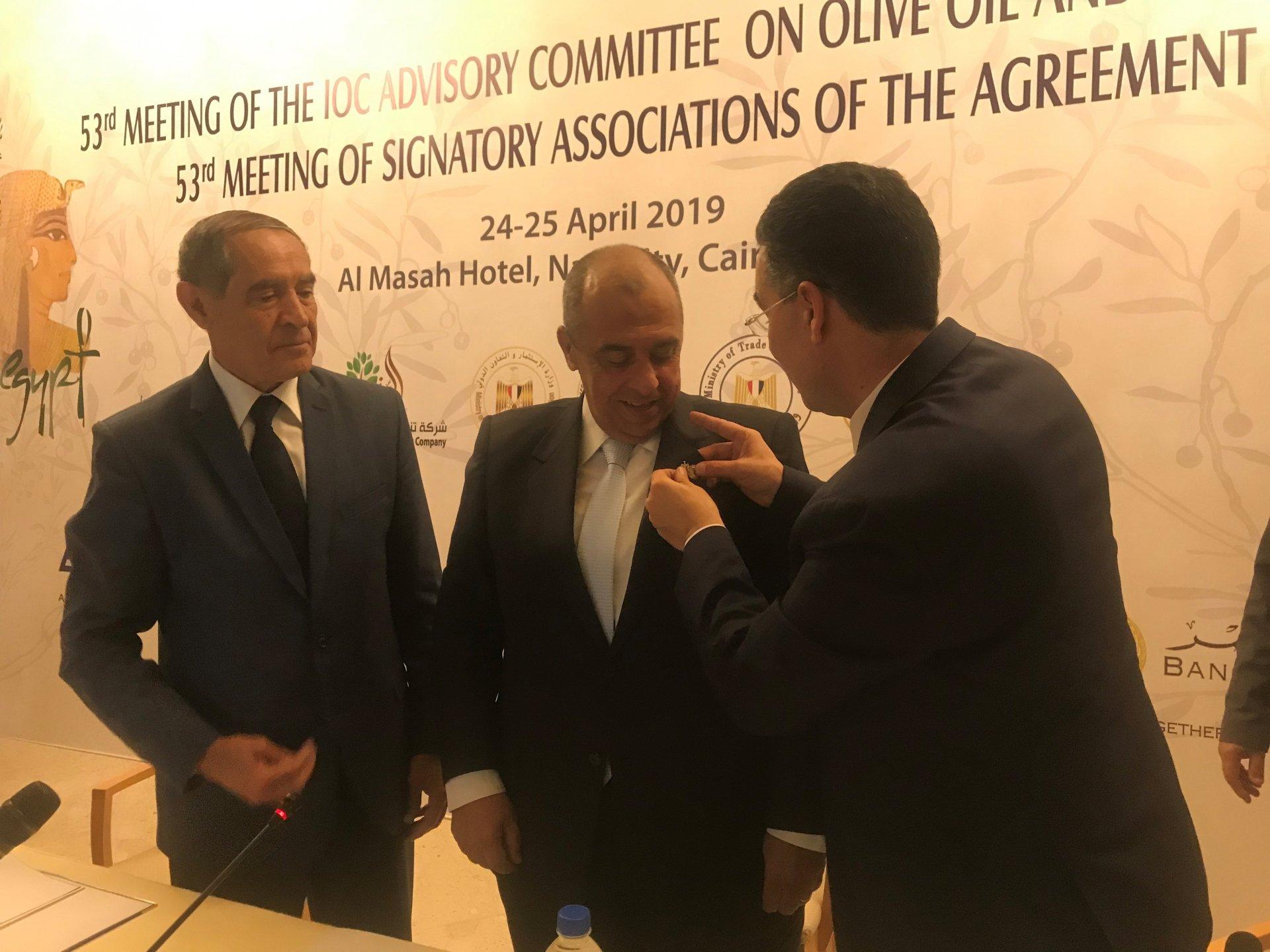 Travaux du Comité consultatif du Conseil oléicole international au Caire