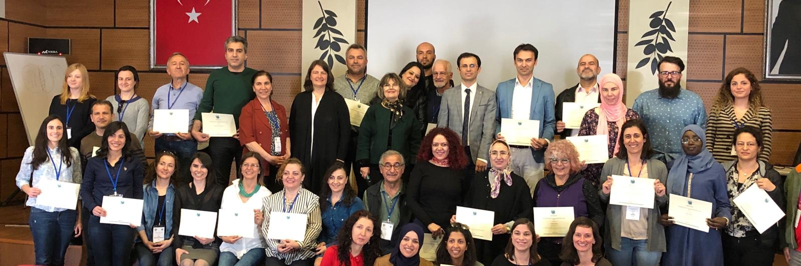 Panel leader training course held in Izmir, Turkey