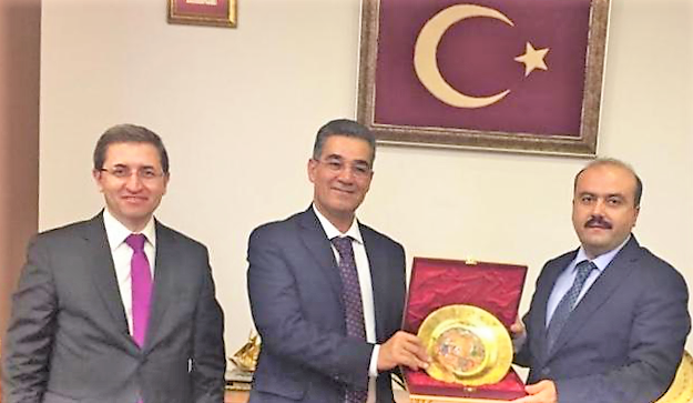 Ghedira and Sepetçi (International Olive Council) on mission in Turkey