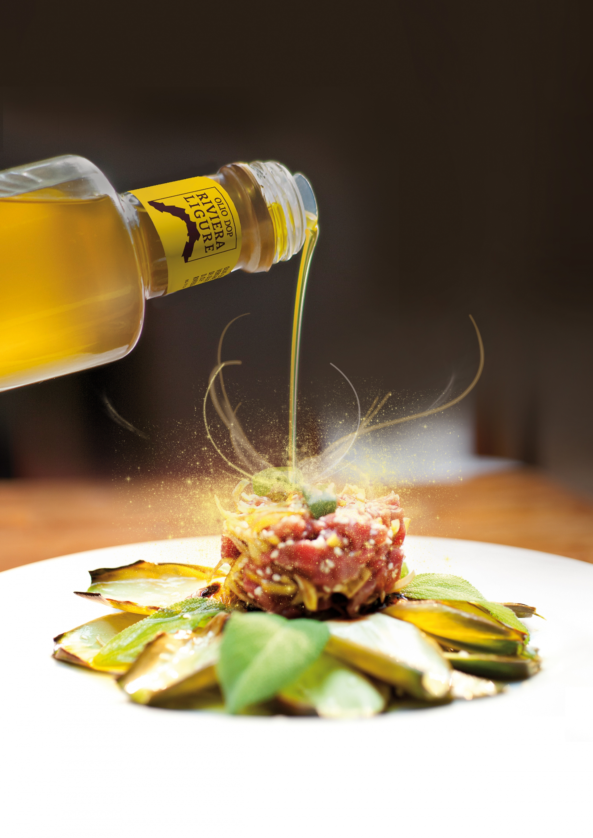 Olio Dop Riviera Ligure protagonista sulla tavola per il Consolato Italiano