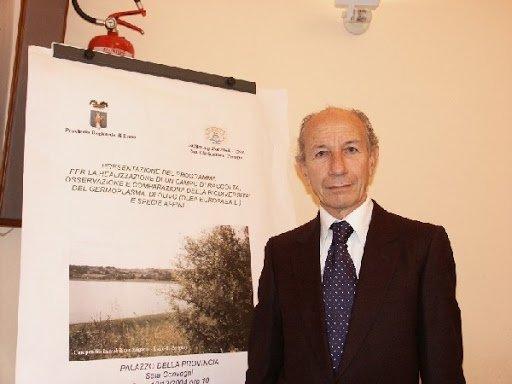 Un innovatore dell'olivicoltura italiana