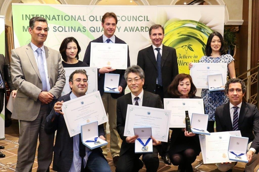 Mario Solinas Award Ceremony held for the first time in Japan