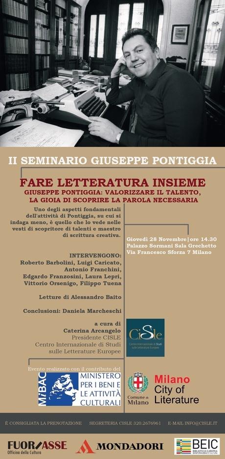 II Seminario Giuseppe Pontiggia