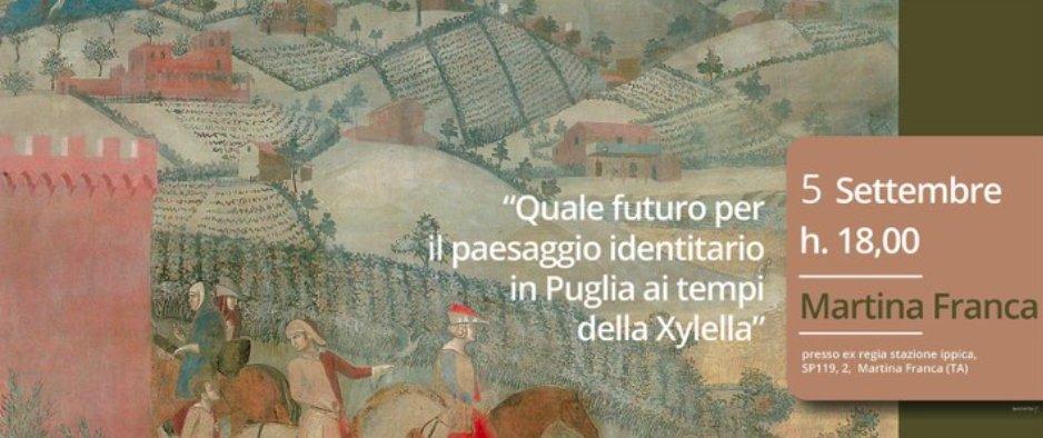 Martina Franca, incontro sul futuro del paesaggio identitario pugliese ai tempi della Xylella