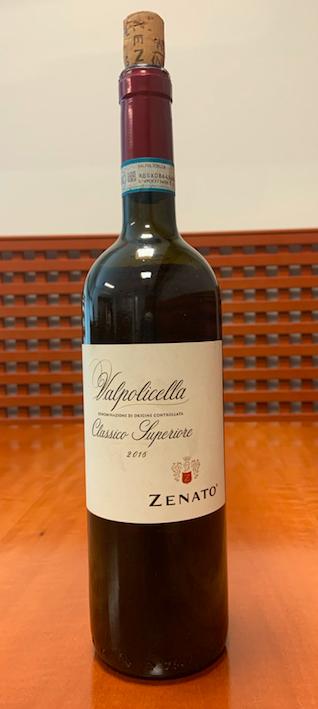 Il vino della settimana è il Valpolicella Classico Superiore di Zenato