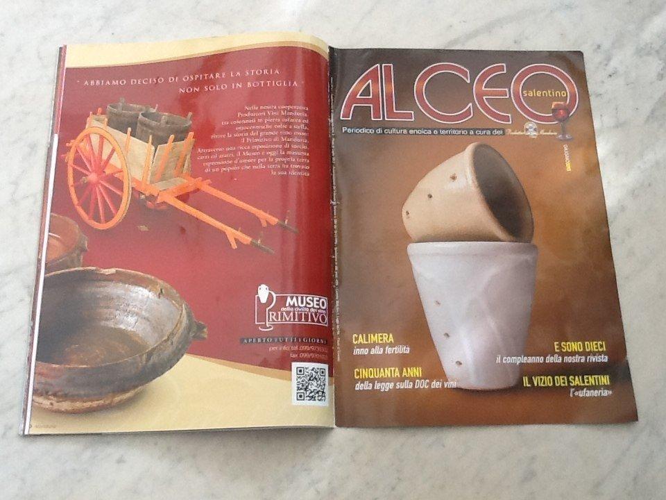 """L'orgoglio salentino nell'house organ """"Alceo"""""""