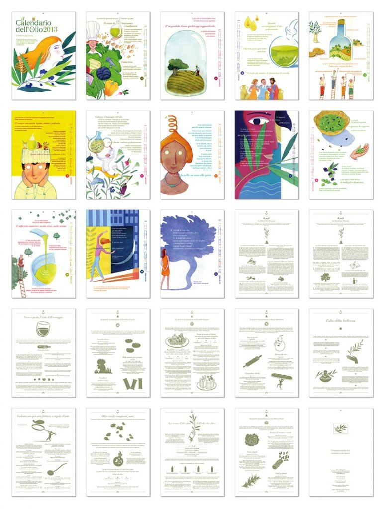 Il Calendario dell'Olio 2013 è servito