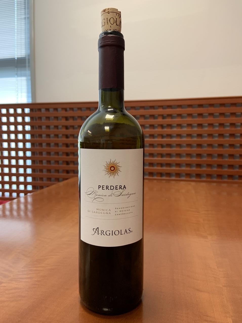 Il vino della settimana è il Perdera di Argiolas