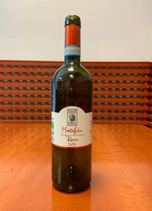 Il vino della settimana è il Montefalco rosso 2015 di Omero Moretti