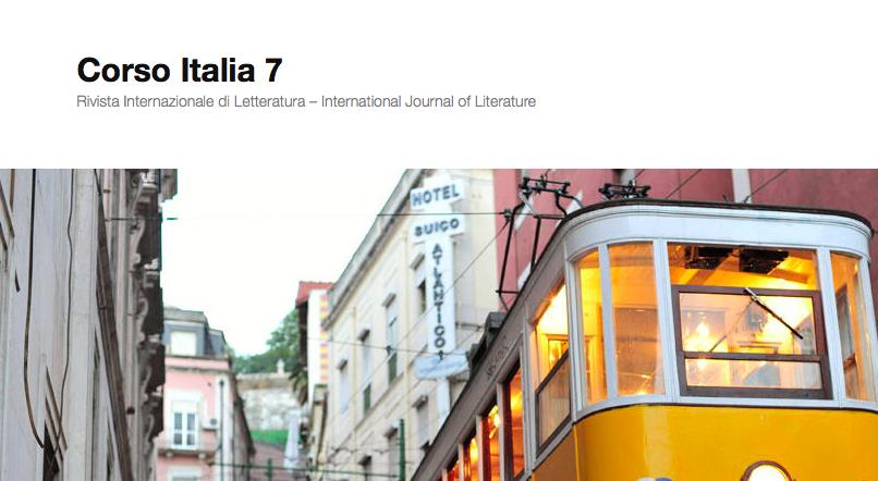 Avete mai letto la rivista di letteratura Corso Italia 7?