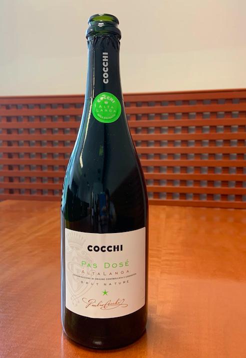 Il vino della settimana: l'Alta Langa Pas Dosè Brut nature di Cocchi