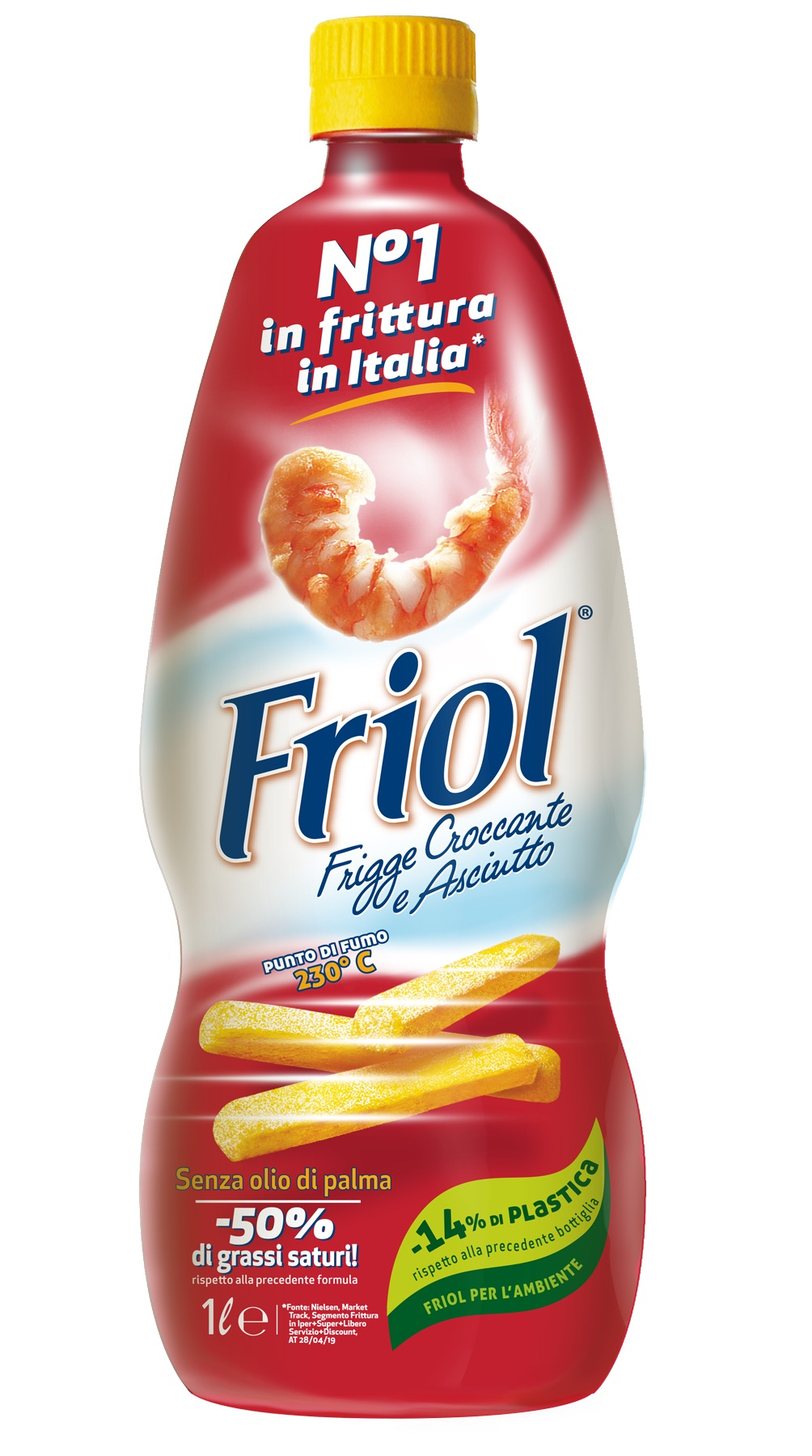Un nuovo packaging per Friol