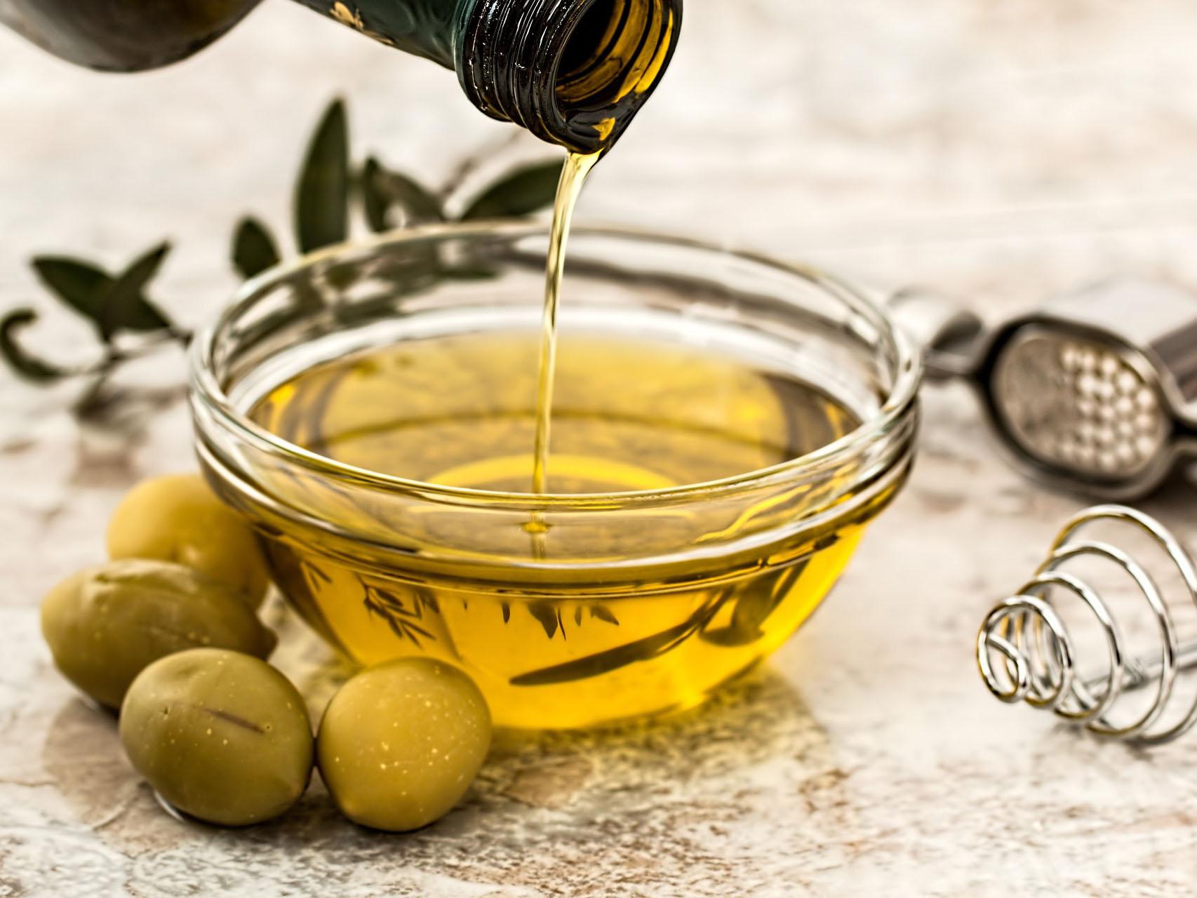 L'olio al ristorante