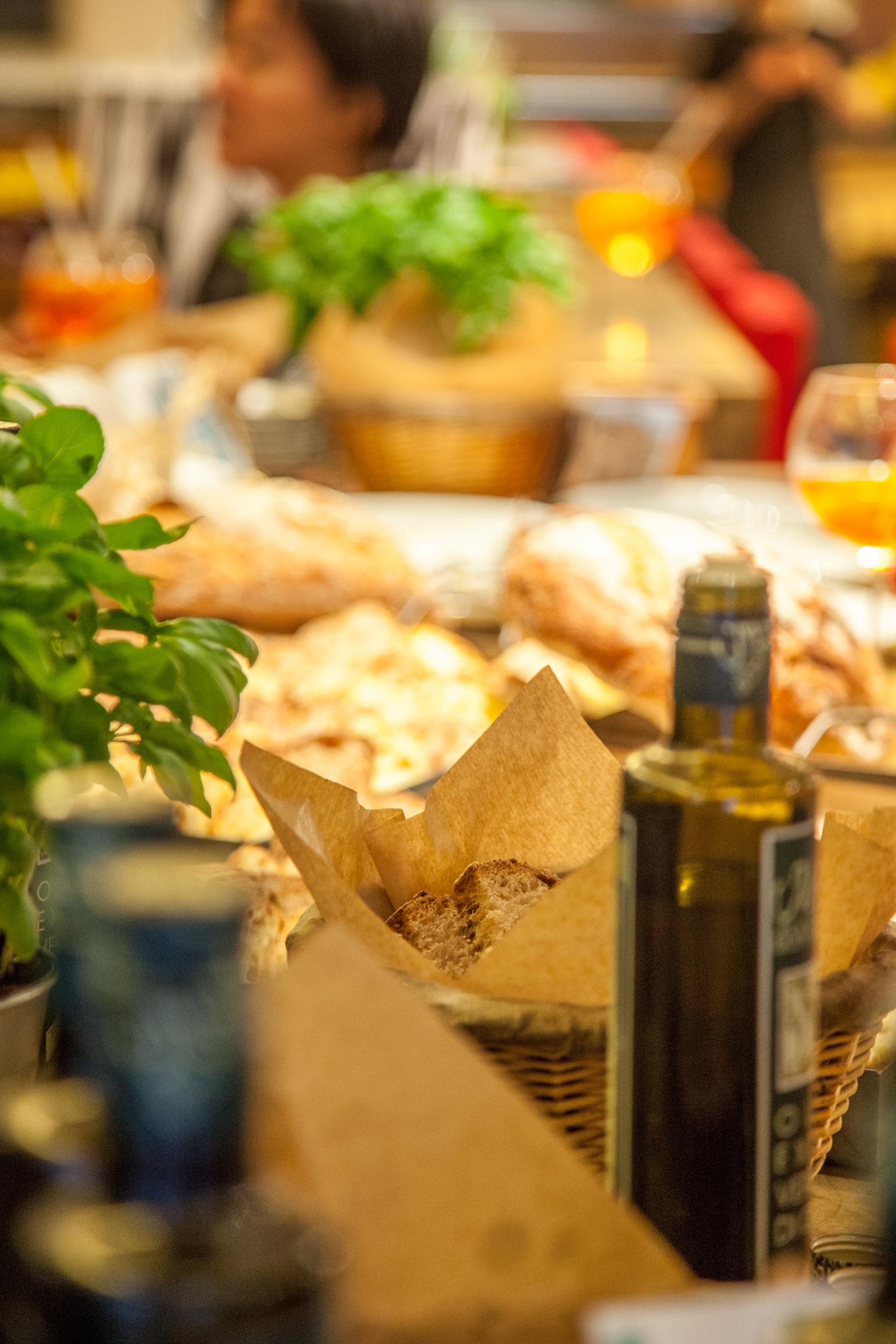 L'olio e il pane fresco non devono essere vissuti dai ristoratori come un costo