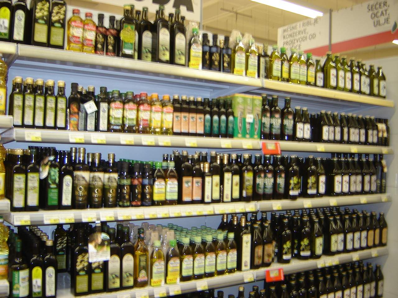 Olive oil stocked In Italy. Update of 7 October 2020
