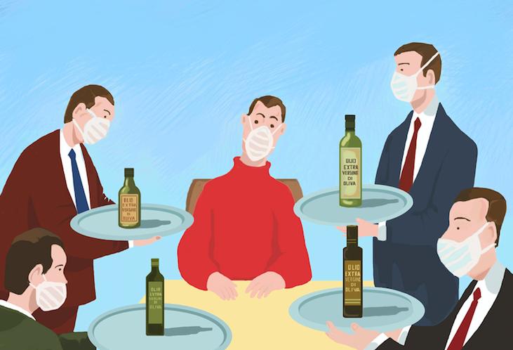 Ripartire dal racconto dell'olio nei ristoranti
