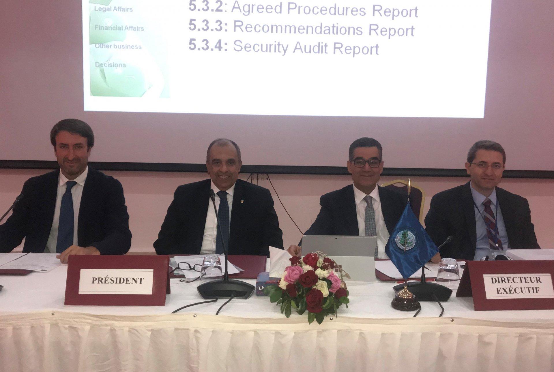 Il ministro egiziano Ezz El Din Abu Steit presiede i lavori del Comitato amministrativo e finanziario del Consiglio Oleicolo Internazionale