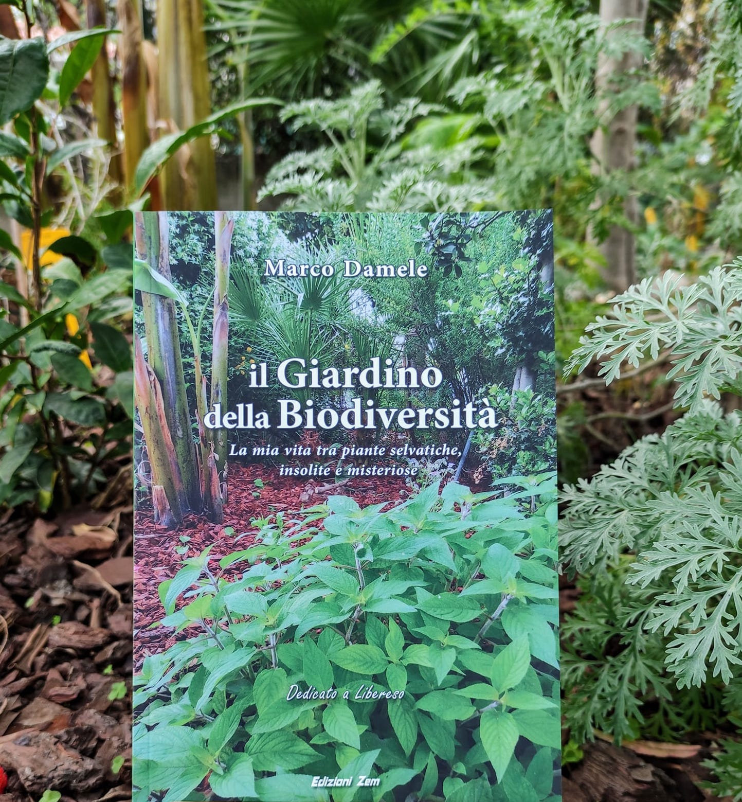 """Il nuovo libro di Marco Damele ha per titolo """"Il giardino della Biodiversità"""""""