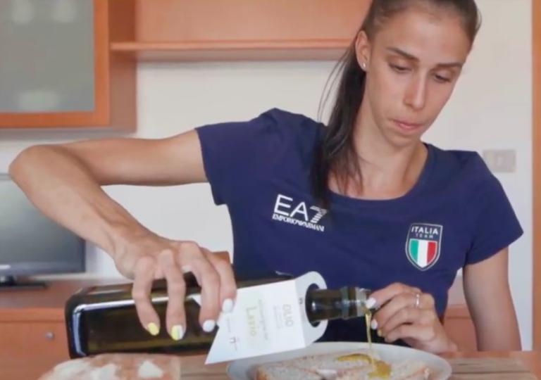 Il mondo dello sport scende in campo per promuovere l'olio extra vergine di oliva