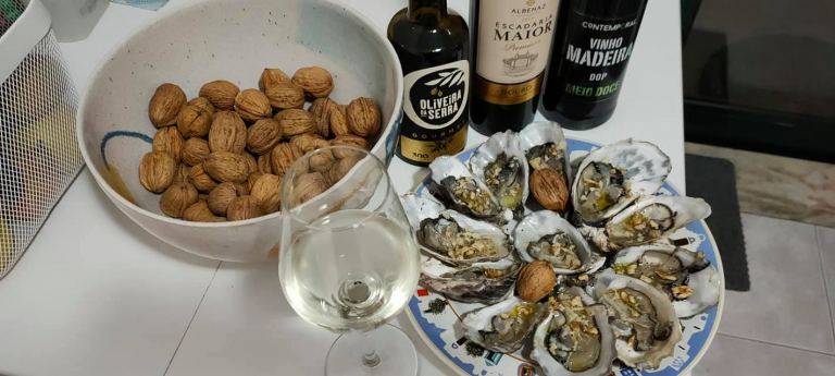 Le ostriche, l'olio, la magia del Portogallo