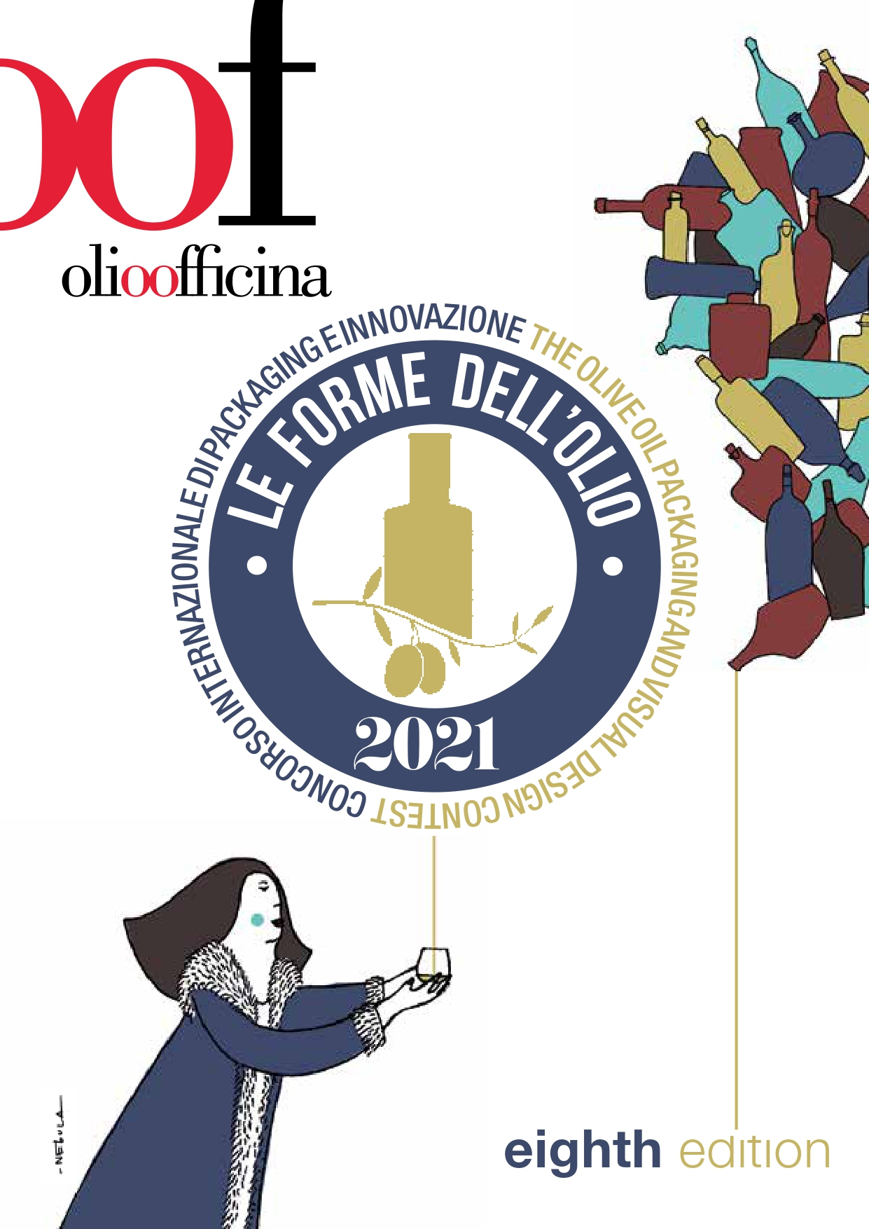 Deadline for registration and delivery of your olive oil and vinegar samples for the Le Forme dell'Olio and Le Forme dell'Aceto competition has been extended until 11 December