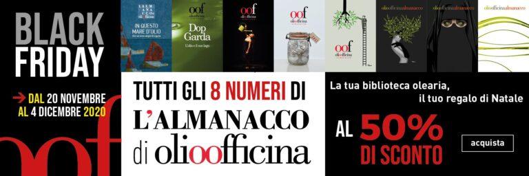 Black Friday fino al 4 dicembre, ultimi giorni per acquistare in blocco le riviste cartacee di Olio Officina