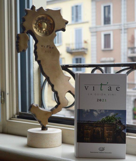 Sono ventidue i Tastevin AIS assegnati nell'ambito della guida ai vini Vitae 2021