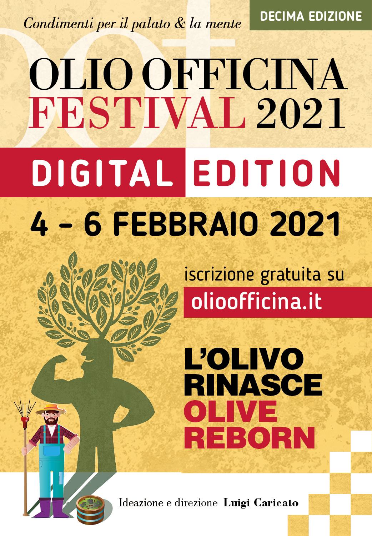La decima edizione di Olio Officina Festival sarà in versione digitale