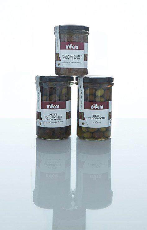 Le olive Taggiasche di Giuseppe Boeri