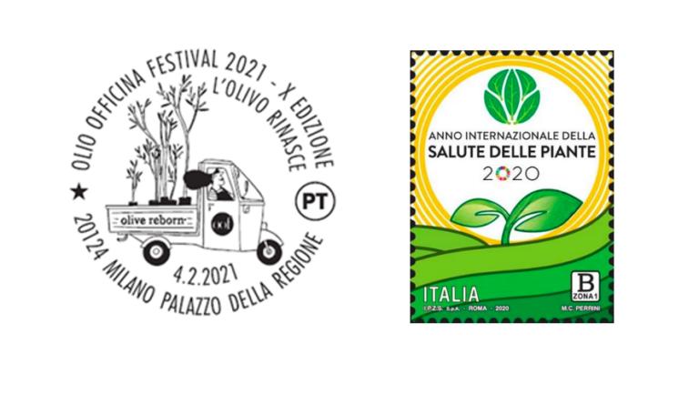 Poste Italiane partecipa alla X edizione di Olio Officina Festival con uno speciale annullo filatelico
