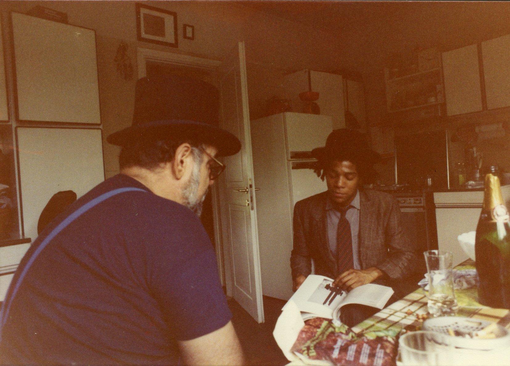 Basquiat. Viaggio in Italia di un formidabile genio